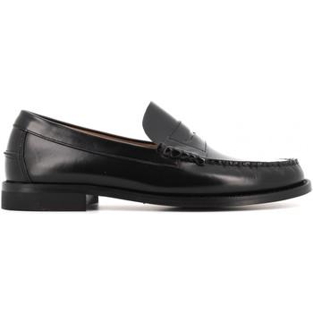 Scarpe Uomo Mocassini Antica Cuoieria scarpe uomo mocassini 15514-G-U23 GLOSS NERO Pelle