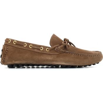 Scarpe Uomo Mocassini Antica Cuoieria scarpe uomo mocassini 22057-B-V03 ALCE ARDESIA Pelle