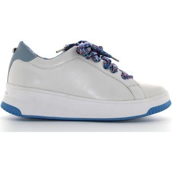 Scarpe Donna Sneakers basse Apepazza scarpe donna sneakers basse S0BASKET04/FLW BIBIANA BIANCO-BLU Pelle