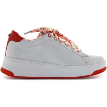 Scarpe Donna Sneakers basse Apepazza scarpe donna sneakers basse S0BASKET04/FLW BIBIANA BIANCO-ROSSO Pelle