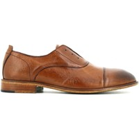 Scarpe Uomo Derby Exton scarpe uomo stringate 5363 CAMEL Pelle