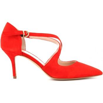 Scarpe Donna Décolleté Lara May scarpe donna decolletè 306 ROSSO Cuoio