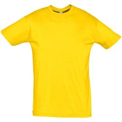 Abbigliamento Uomo T-shirt maniche corte Sols REGENT COLORS MEN Amarillo