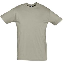 Abbigliamento Uomo T-shirt maniche corte Sols REGENT COLORS MEN Kaki