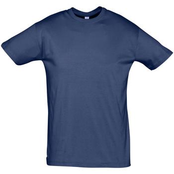 Abbigliamento Uomo T-shirt maniche corte Sols REGENT COLORS MEN Azul