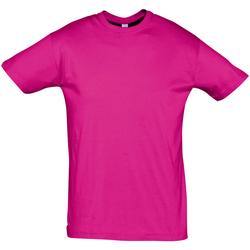 Abbigliamento Uomo T-shirt maniche corte Sols REGENT COLORS MEN Violeta