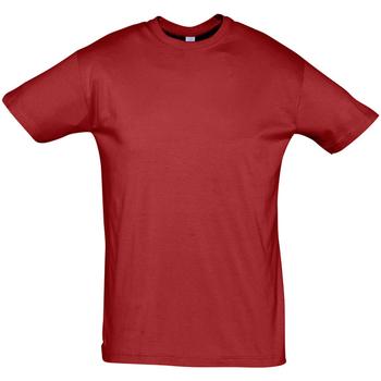 Abbigliamento Uomo T-shirt maniche corte Sols REGENT COLORS MEN Rojo