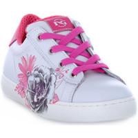 Scarpe Bambina Sneakers basse Nero Giardini 707 CILE BIANCO Bianco