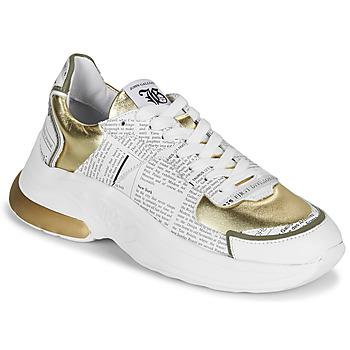 Scarpe Donna Sneakers basse John Galliano 3646 Bianco / Oro