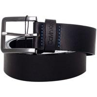 Accessori Uomo Cinture Calvin Klein Accessories k50k505491 Cinture Uomo Nero Nero