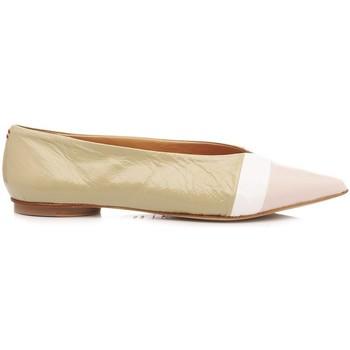 Scarpe Donna Ballerine Halmanera Scarpe Ballerine Lali03 Tricolore bianco, nudo, peonia