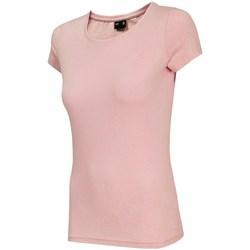 Abbigliamento Donna T-shirt maniche corte 4F TSD001 Rosa