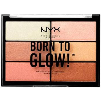 Bellezza Donna Illuminanti Nyx Born To Glow! Highlighting Palette 6 x 4,8 g