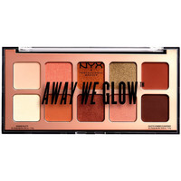 Bellezza Donna Cofanetto ombretti Nyx Away We Glow Shadow Palette hooked On Glow 10x1 Gr 10 x 1 g
