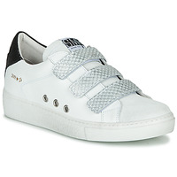 Scarpe Donna Sneakers basse Semerdjian VIP Bianco / Argento