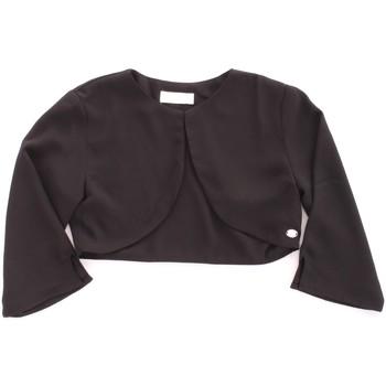 Abbigliamento Bambina Gilet / Cardigan Byblos Blu BJ14937 Nero