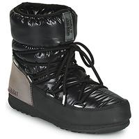 Scarpe Donna Stivali da neve Moon Boot MOON BOOT LOW ASPEN WP Nero