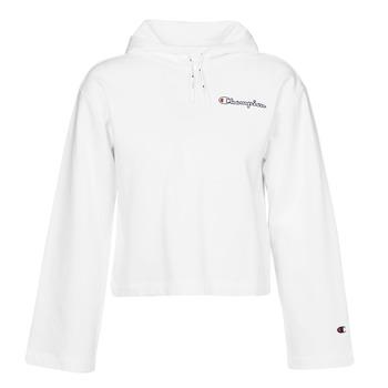 Abbigliamento Donna Felpe Champion HEAVY COMBED COTTON FLEECE Bianco