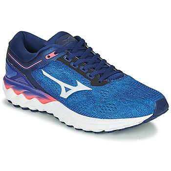 Scarpe Uomo Running / Trail Mizuno WAVE SKY RISE Blu