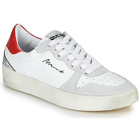 Scarpe Donna Sneakers basse Meline STRA5007 Bianco / Rosso