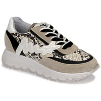 Scarpe Donna Sneakers alte Meline TRO1700 Beige / Python