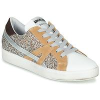 Scarpe Donna Sneakers basse Meline IN1344 Bianco / Beige / Oro