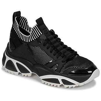 Scarpe Uomo Sneakers basse MICHAEL Michael Kors LUCAS Nero / Bianco