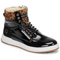 Scarpe Bambina Sneakers alte Bullboxer AOF503E6L-BLCK Nero