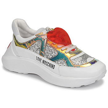 Scarpe Donna Sneakers basse Love Moschino JA15196G1B Argento