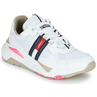 Scarpe Donna Sneakers basse Tommy Jeans WMN TOMMY JEANS COOL RUNNER Bianco / Blu / Rosso