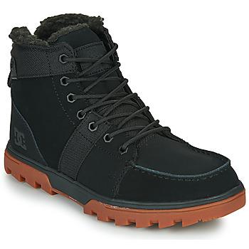 Scarpe Uomo Stivaletti DC Shoes WOODLAND Nero
