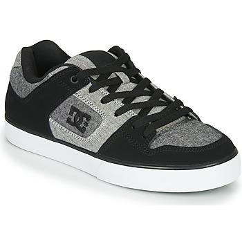 Scarpe Uomo Sneakers basse DC Shoes PURE Nero / Grigio