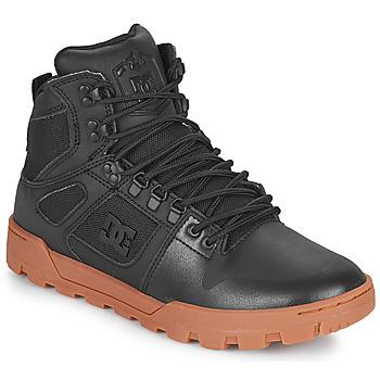 Scarpe Uomo Sneakers alte DC Shoes PURE HIGH TOP WR BOOT Nero