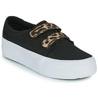 Scarpe Donna Sneakers alte DC Shoes TRASE PLATEFORM V Nero / Leopard
