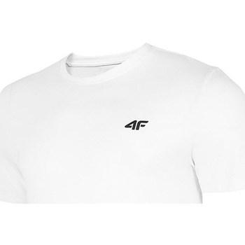 Abbigliamento Uomo T-shirt maniche corte 4F TSM003 Bianco