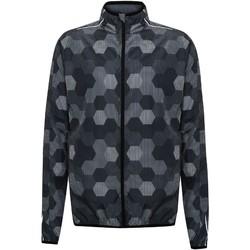 Abbigliamento Uomo Giacche sportive Tridri TR074 Nero esagoni