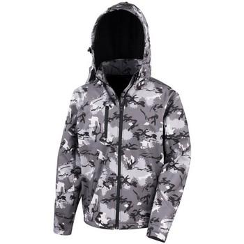 Abbigliamento Uomo giacca a vento Result R235X Carbone mimetico