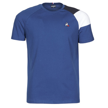 Abbigliamento Uomo T-shirt maniche corte Le Coq Sportif ESS TEE SS N°10 M Blu