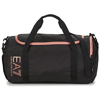 Borse Donna Borse da sport Emporio Armani EA7 TRAIN CORE U GYM BAG SMALL Nero / Rosa