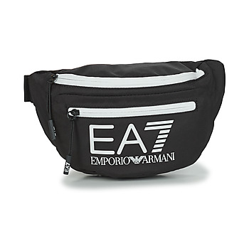 Borse Marsupi Emporio Armani EA7 TRAIN CORE U SLING BAG Nero / Bianco