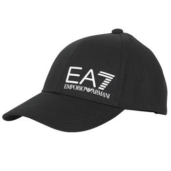 Accessori Uomo Cappellini Emporio Armani EA7 TRAIN CORE ID M LOGO CAP Nero