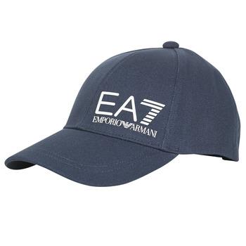Accessori Uomo Cappellini Emporio Armani EA7 TRAIN CORE ID M LOGO CAP Marine