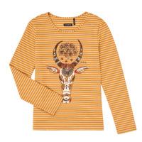 Abbigliamento Bambina T-shirts a maniche lunghe Ikks XR10102 Marrone