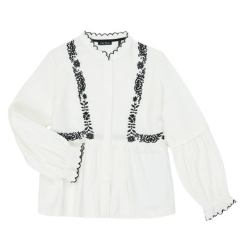 Abbigliamento Bambina Camicie Ikks XR12022 Bianco
