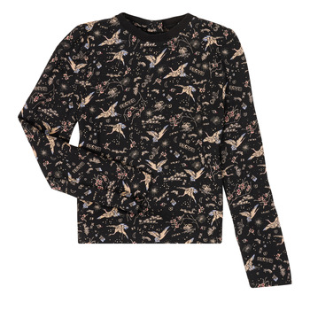 Abbigliamento Bambina T-shirts a maniche lunghe Ikks XR12052 Nero