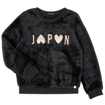 Abbigliamento Bambina Felpe Ikks XR15042 Nero