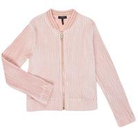 Abbigliamento Bambina Gilet / Cardigan Ikks XR17022 Rosa