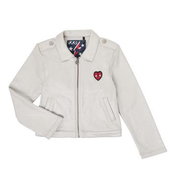 Abbigliamento Bambina Gilet / Cardigan Ikks XR17032 Grigio