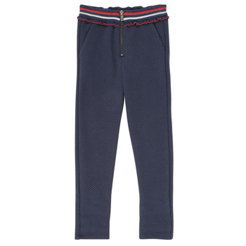 Abbigliamento Bambina Pantaloni 5 tasche Ikks XR23002 Blu
