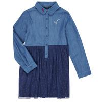 Abbigliamento Bambina Abiti corti Ikks XR30122 Blu